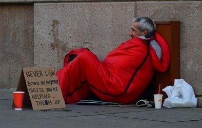 Homeless in Detroit
